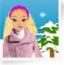 Barbie v zimě